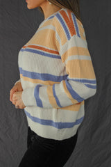 Aliso Striped Knit Sweater