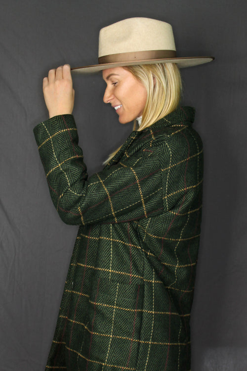 Shasta Plaid Coat