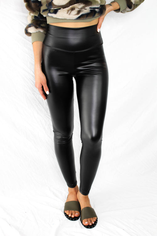 Sullivan Vegan Leather Leggings