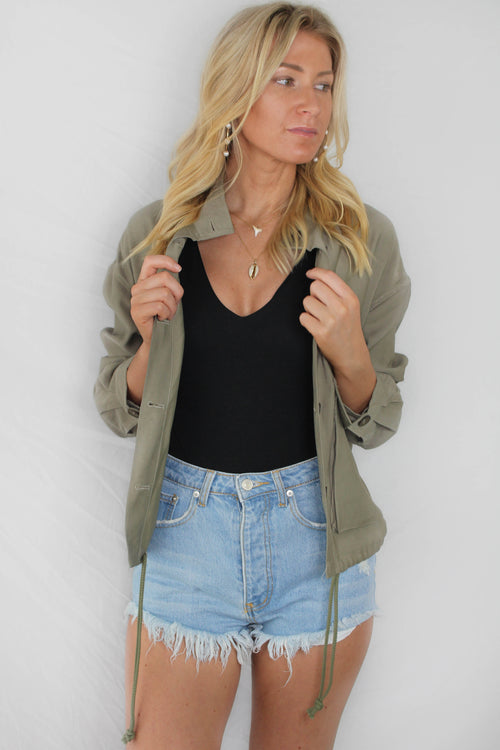 Neah Button Down Jacket