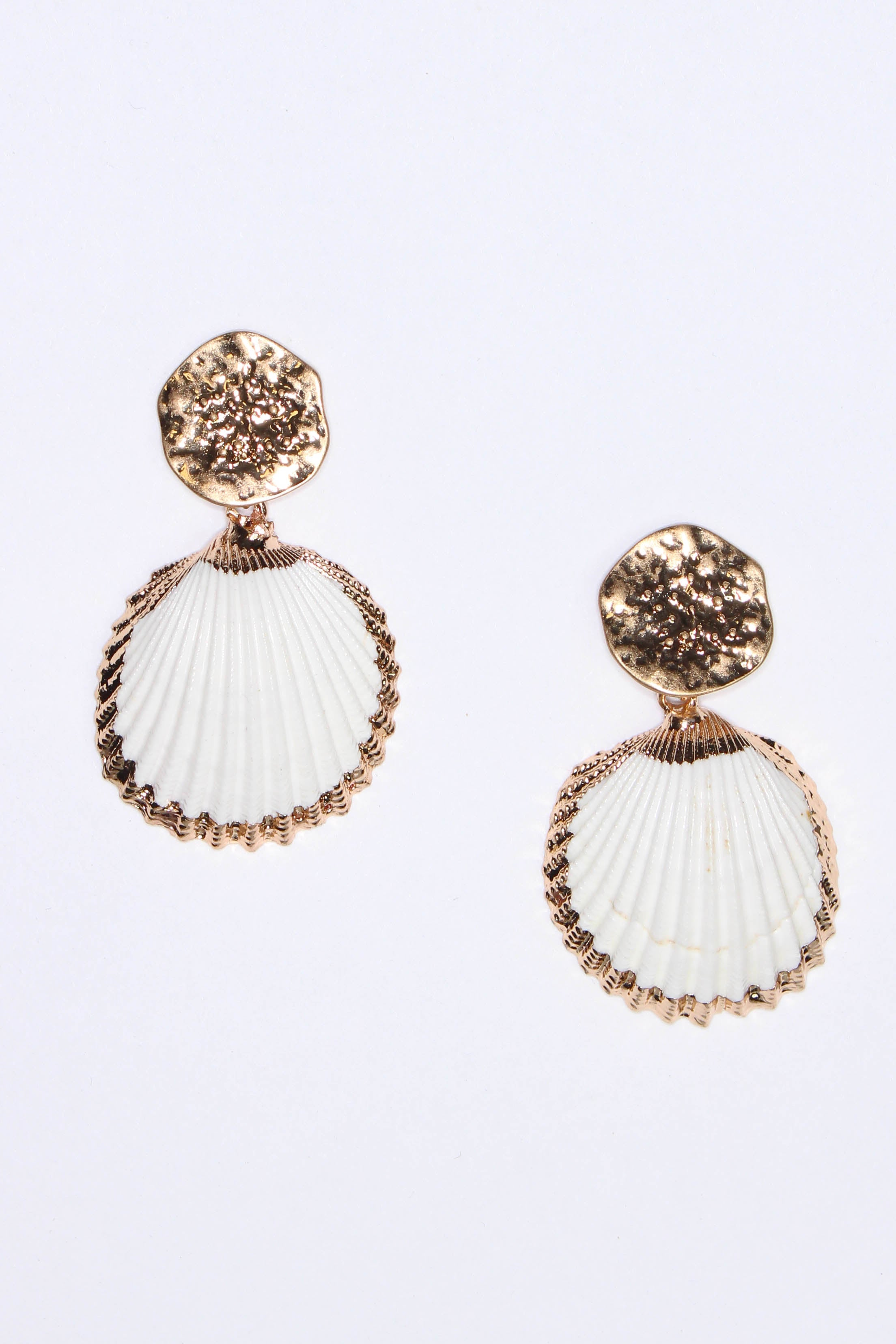 Ark Shell Drop Earring