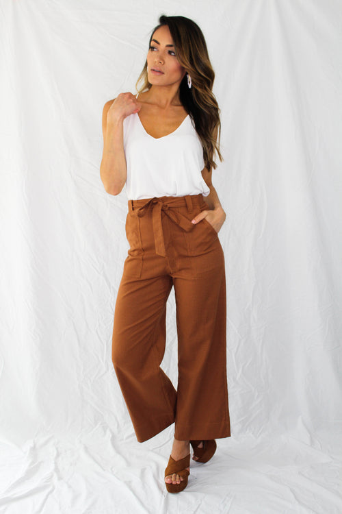 Marco Belted Pant