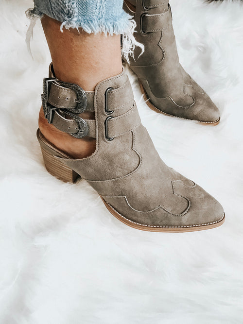 Rawlins Buckle Bootie