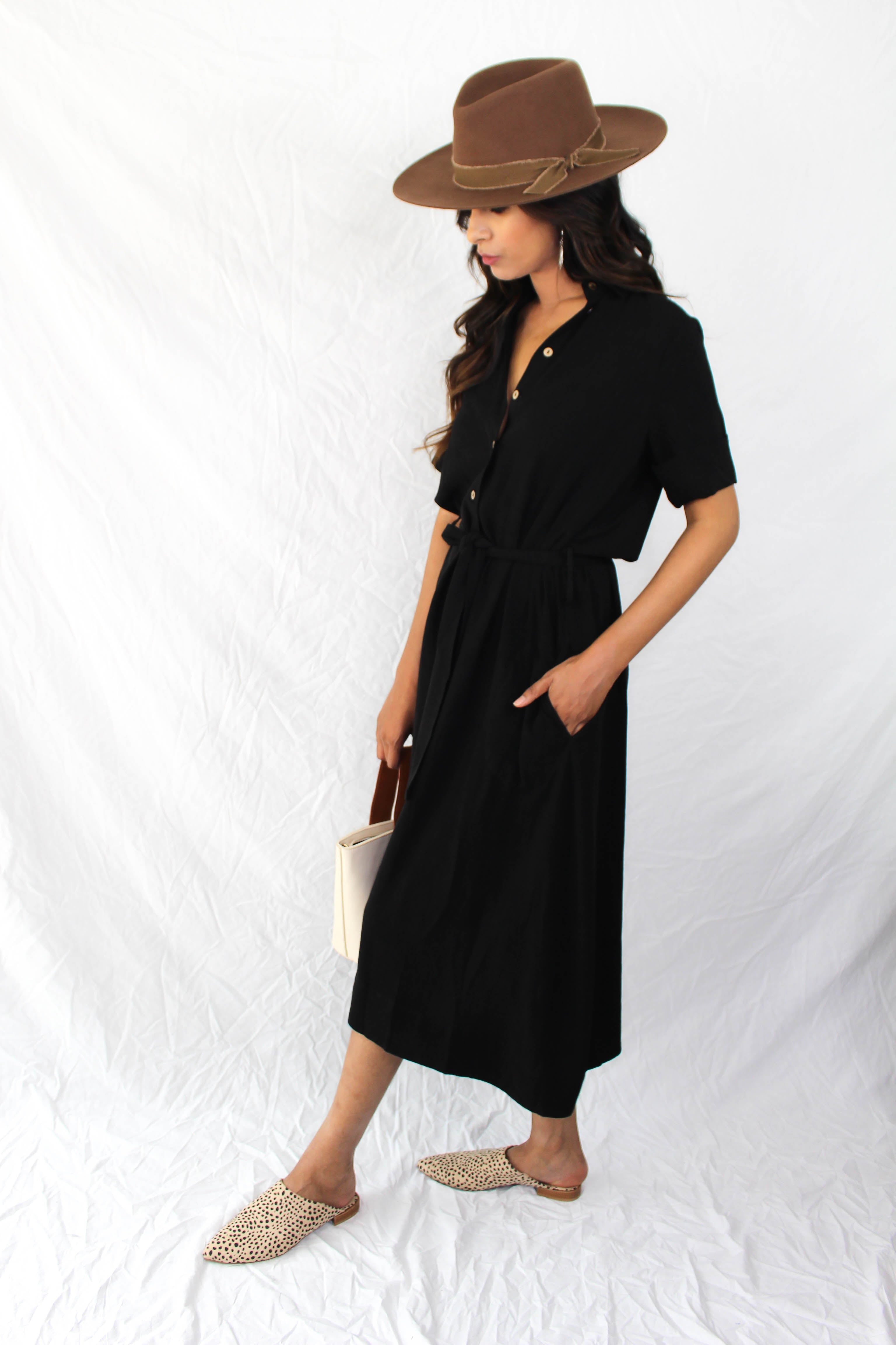 Blair Midi Button Down Dress