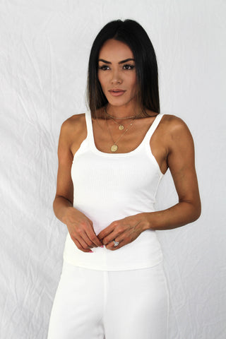 Hadley Lace Top - WHITE