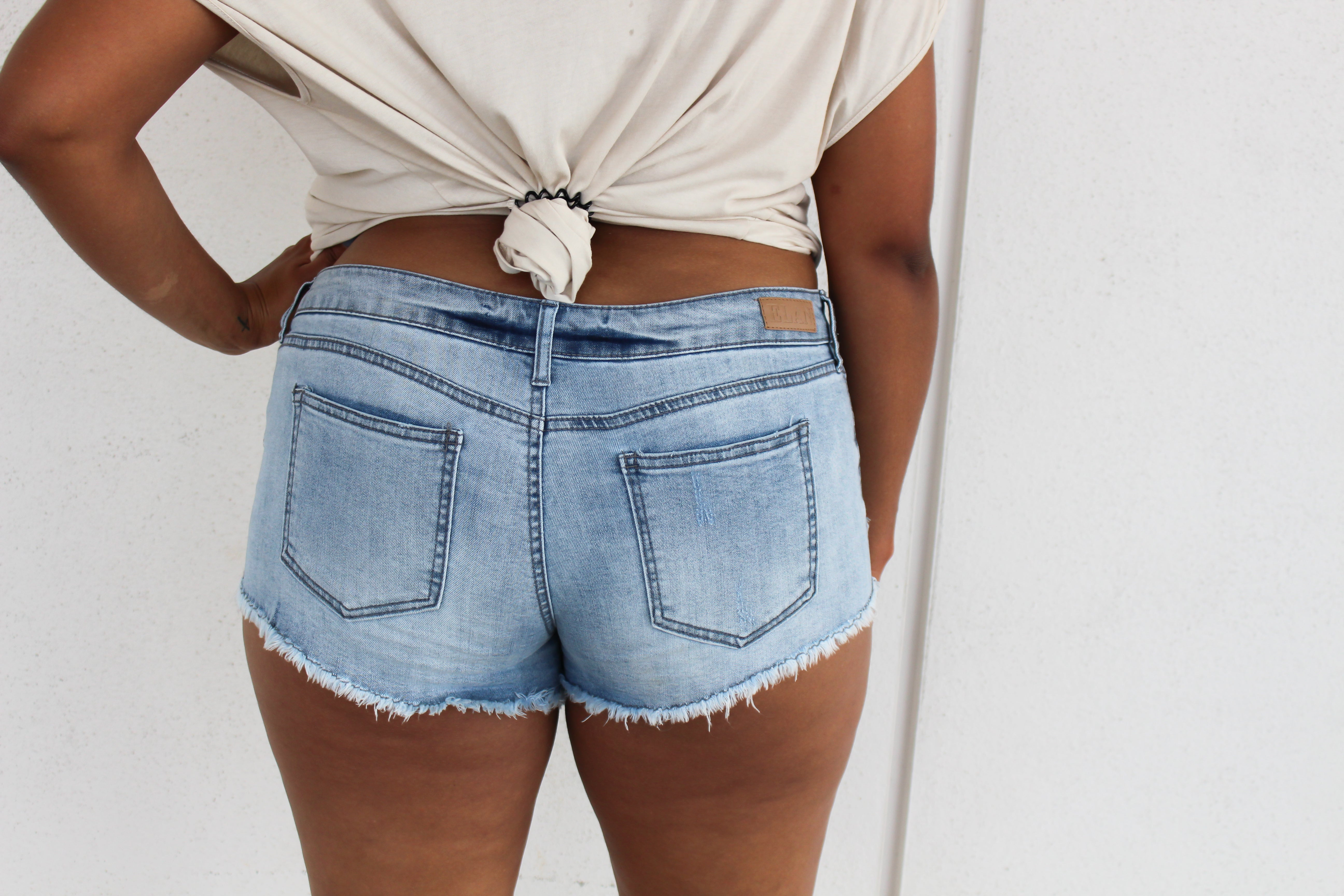Madero Shorts - DENIM