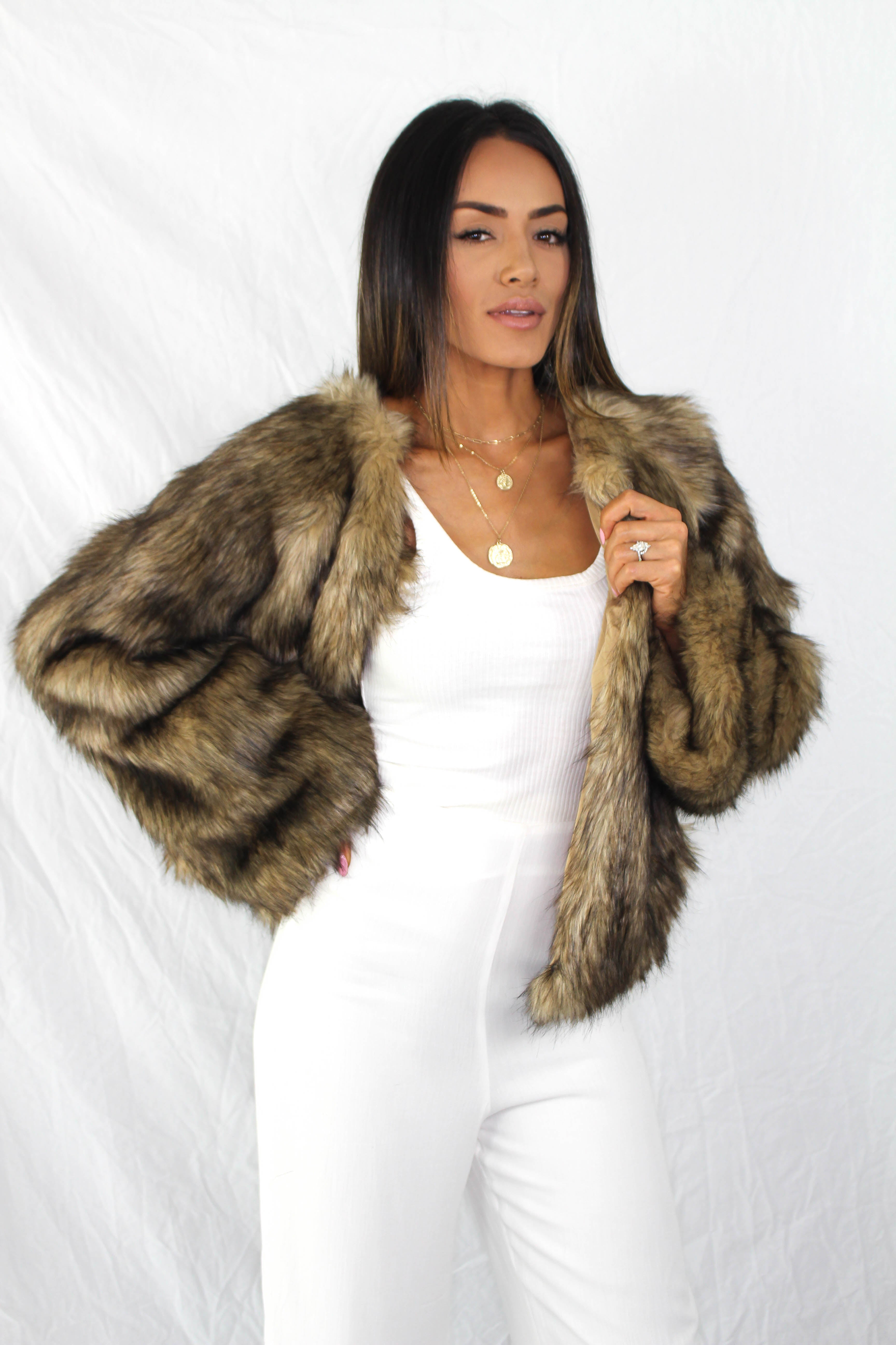 Skeena Faux Fur Coat