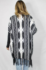 Meadow Creek Printed Cardigan