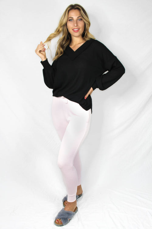 Brookings Drawstring Jogger - BLUSH