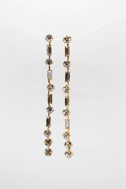 Vertical Dangle Earring - GOLD
