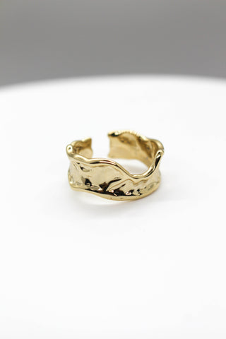 Adjustable Arrow Ring - GOLD