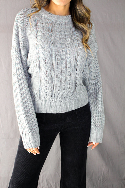 Shawme Cable Knit Sweater