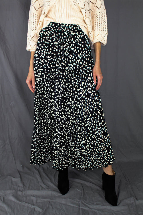 Clermont Printed Maxi Skirt