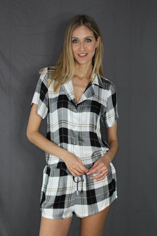 Bryant Plaid PJ Bottoms