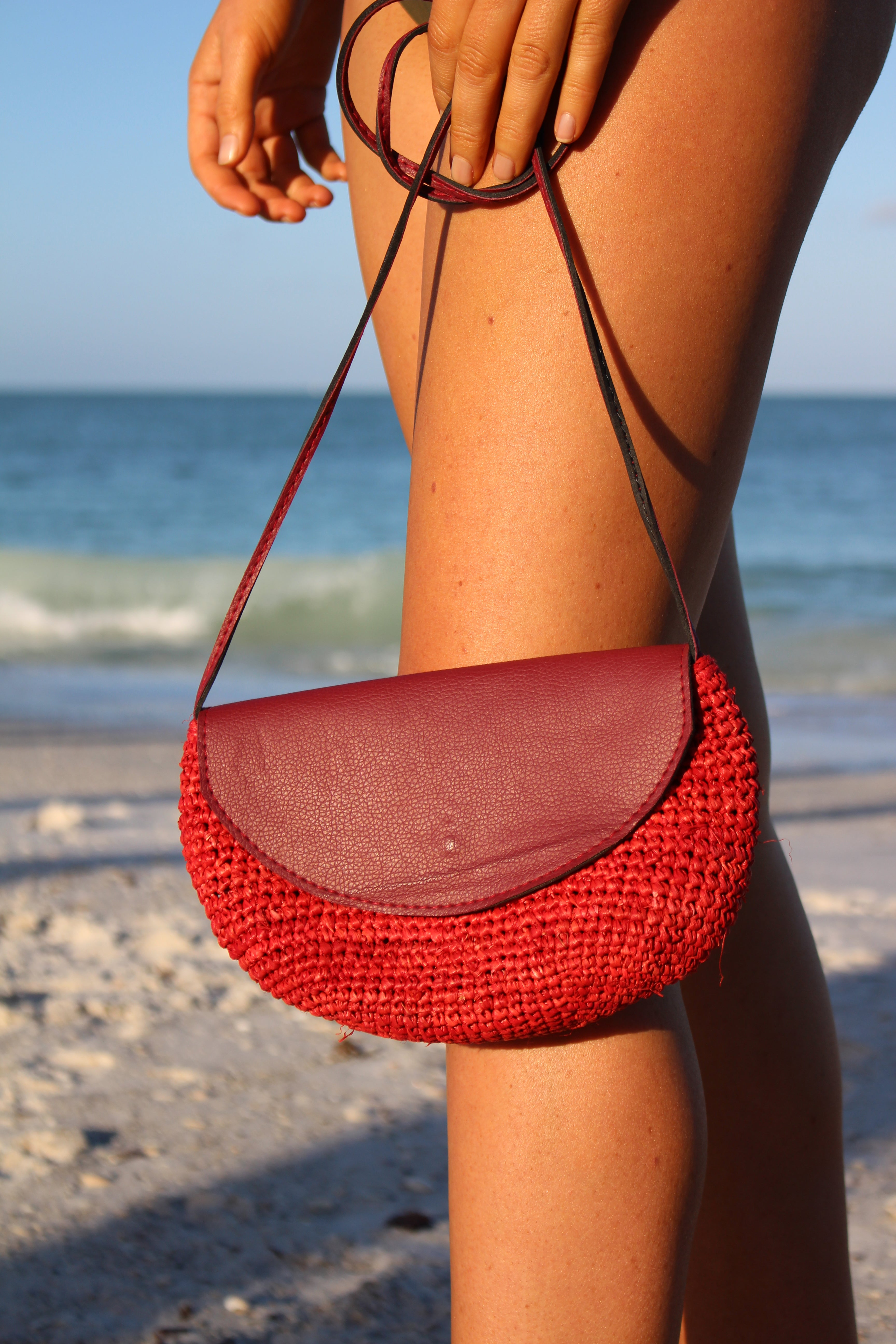 Palm Island Bag - RED