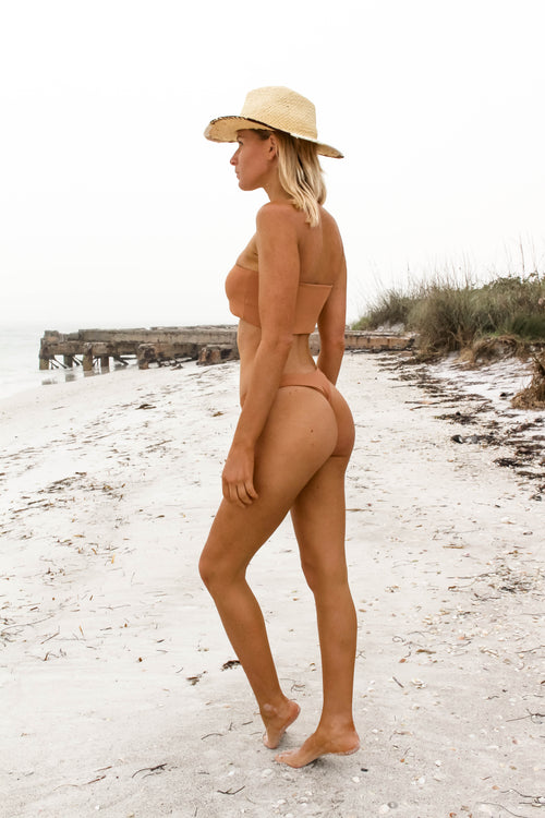 Tarpon Key Top - NUDE