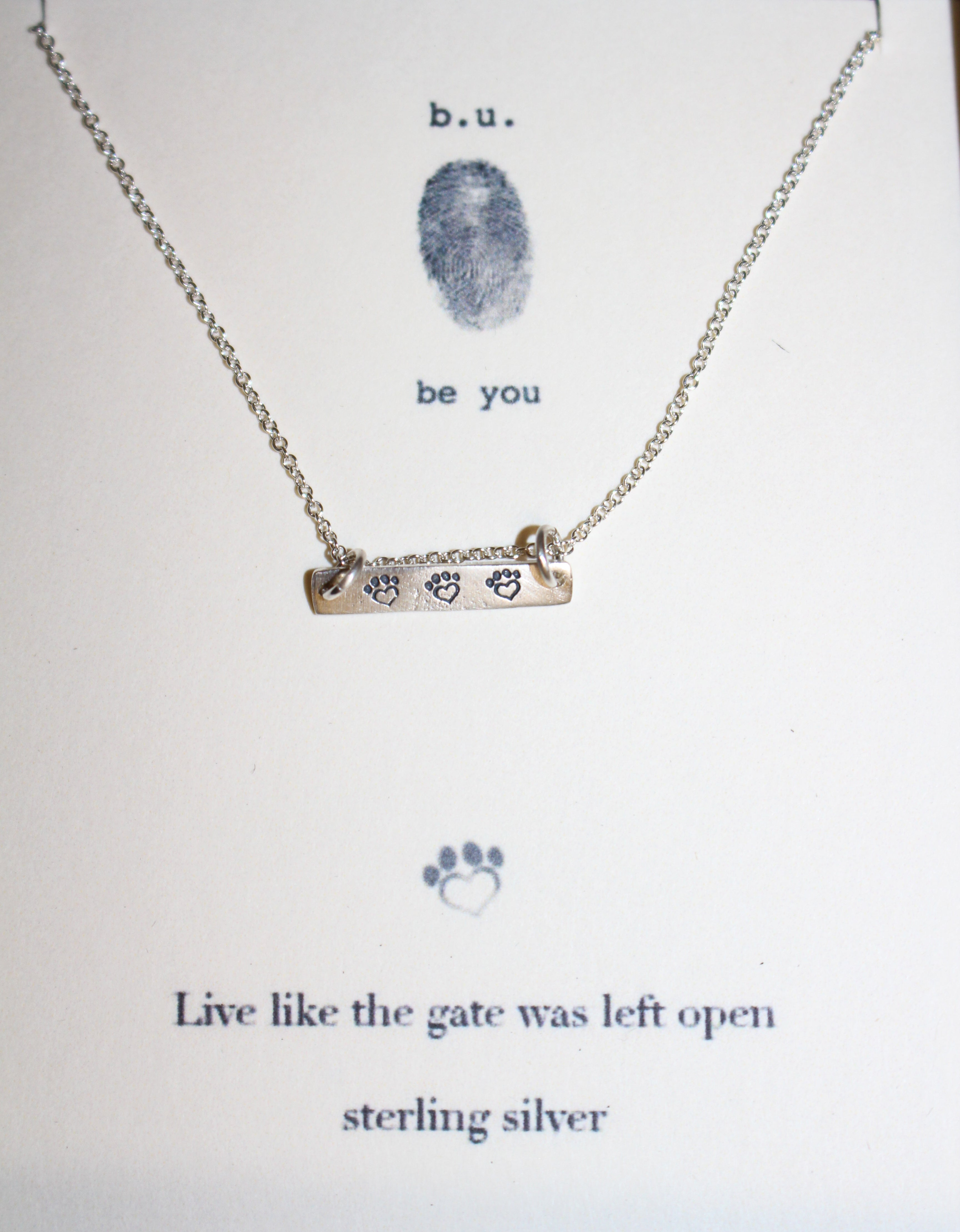 Live Like the Gate Was Left Open - SILVER