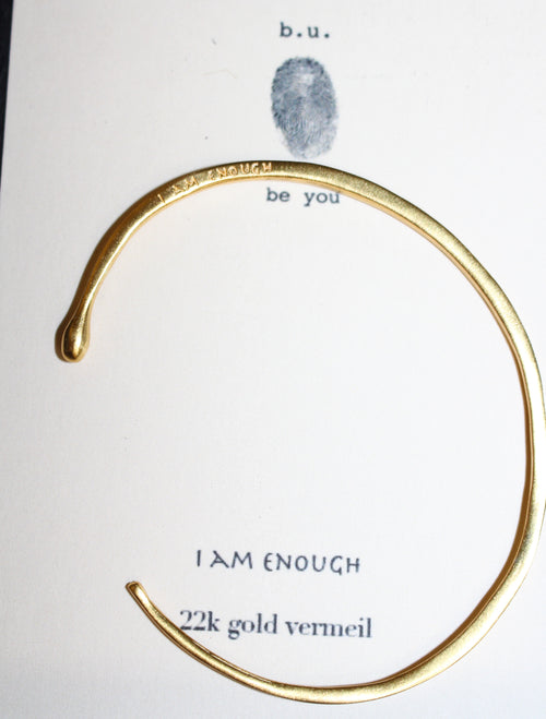 I Am Enough - GOLD