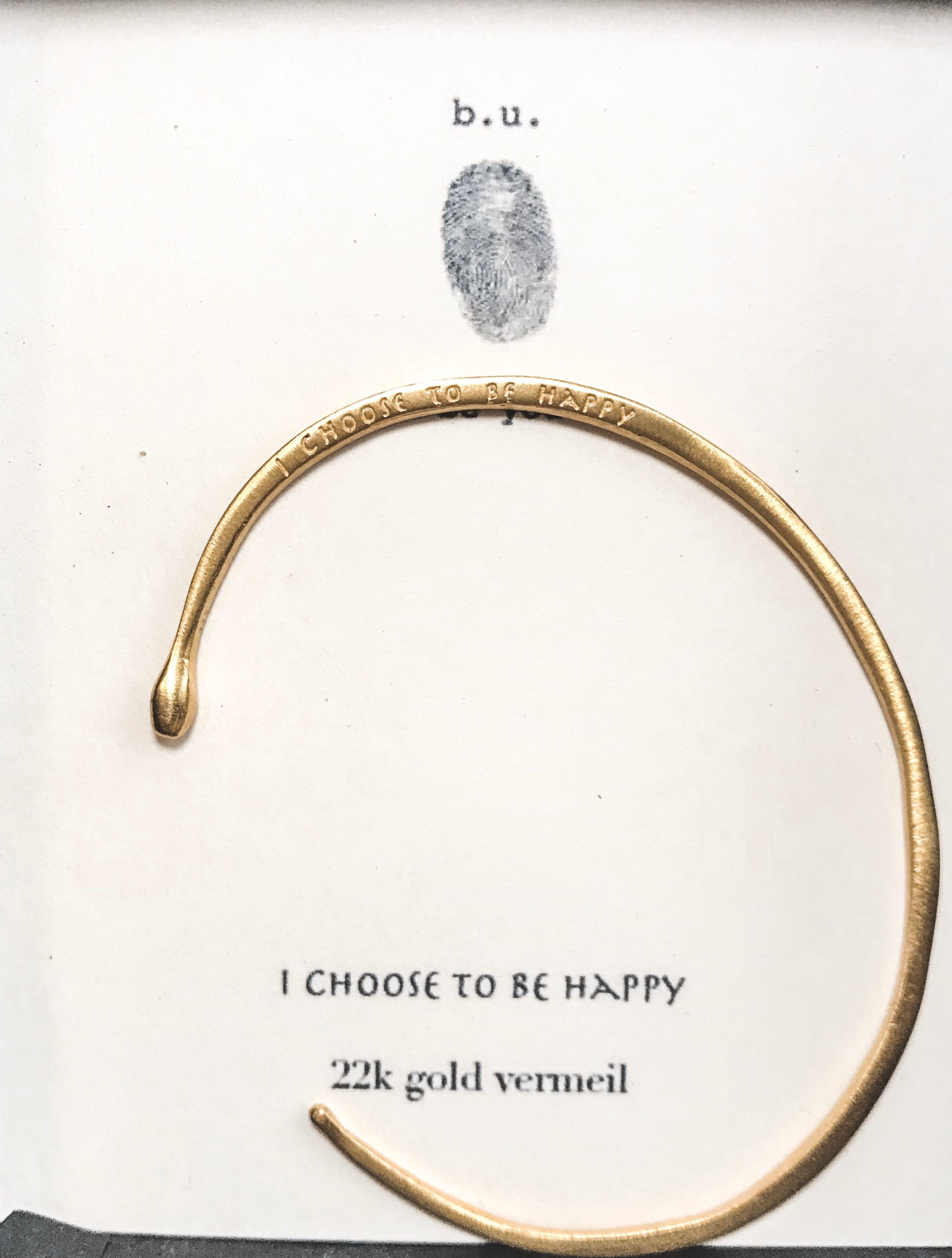 I Choose To Be Happy - GOLD