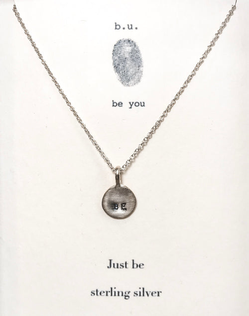 Just Be - Silver