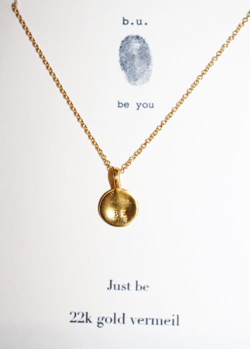 Just Be - GOLD