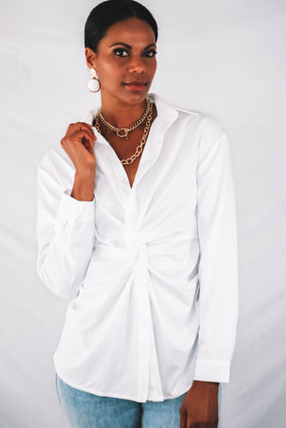 Morelos Surplice Top