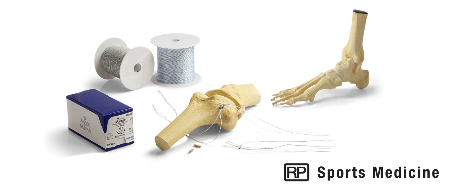 RP Sports Medicine  |  HS Fiber® Suture, Tape & Devices