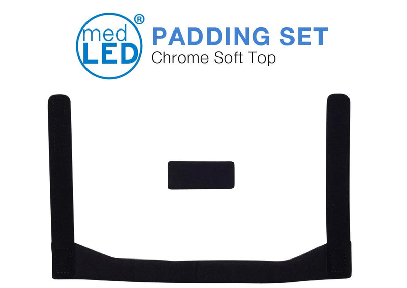 MedLED® Padding (Chrome ST Pillow Velcro)