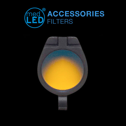 Amber Filter for Surgical Headlights