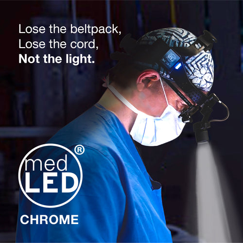 MedLED Chrome® Surgical Headlight