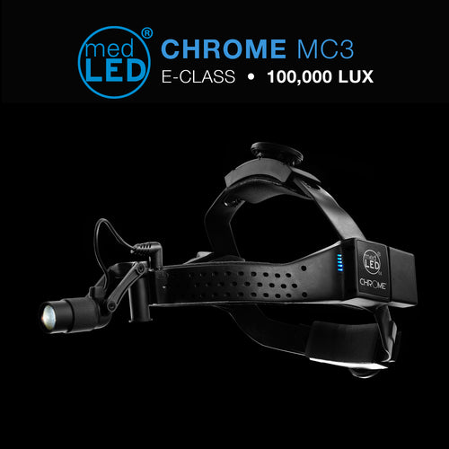 MedLED Surgical Headlight E-Class with 100,000 LUX