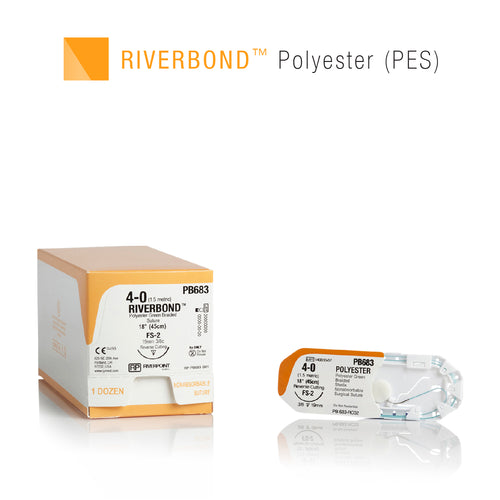 Suture RiverBond Polyester (PES)