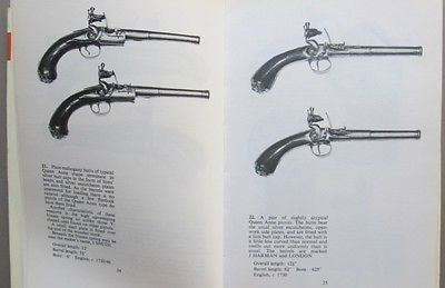 Illustrated Reference Guide to Flintlock Pistols 17th-19th century F. Wilkinson