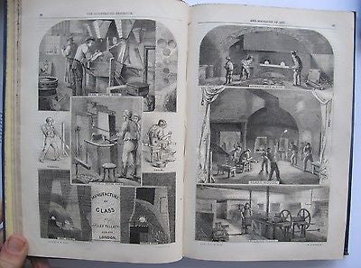 1852 Magazine of Art: Audubon, Ballooning, Gold in Calif, Slavery, Technology