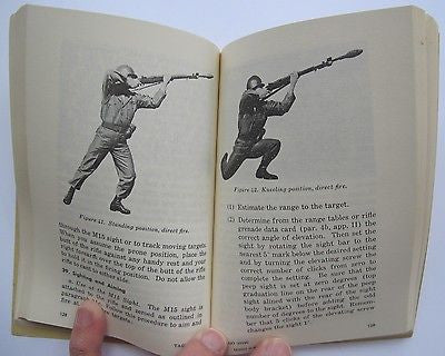Grenades & Pyrotechnics Reprint Field Manual 23-30 Dept of the Army 1959/1968.
