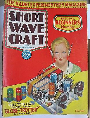 1930s Radio - Complete Run – Short Wave Craft magazine. Television. + Dups 163 s