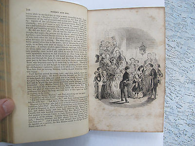 Charles Dickens. Dealings With The Firm Dombey And Son. 1848. 2 volumes. Illus.