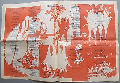 The City of San Francisco Oracle. Vol I No. 9. 1967. Newspaper Psychedelic
