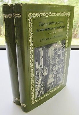 The Printing Press as an Agent of Change: in early-modern Europe. 2 Vol