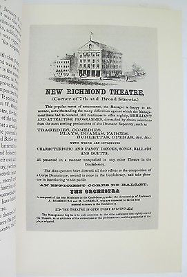 Confederate Theatre Inscribed R Harwell Civil War American Antiquarian Society