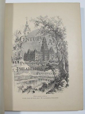 1875 Picturesque Philadelphia and Pennsylvania Fairmount Wissahickon FOC.Darley
