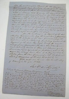 1864 AUSTRIAN GOVERNMENT PETITION TO THE CONFEDERATE GOVERNMENT Tobacco Tax