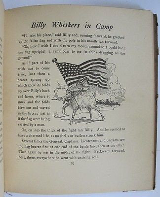 Billy Whiskers In Camp Army Submarine Eiffel Tower Police Dog Fire