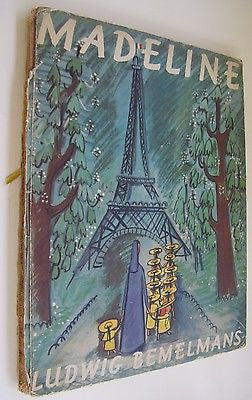 Madeline By Ludwig Bemelmans. Simon & Schuster, New York. 1939 - (First Edition)