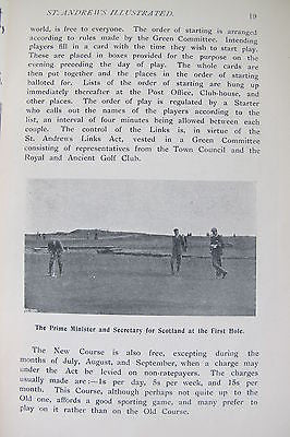 Golf St. Andrews Illustrated C 1905 Archery Bathing Bowling Cricket Ladies' Golf