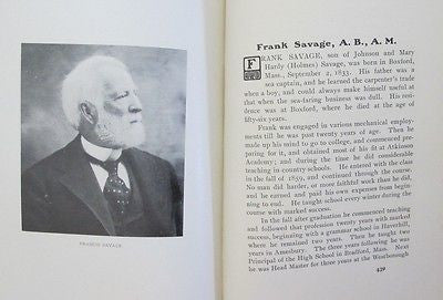 Biographical Sketches of the Class of 1863 Dartmouth College