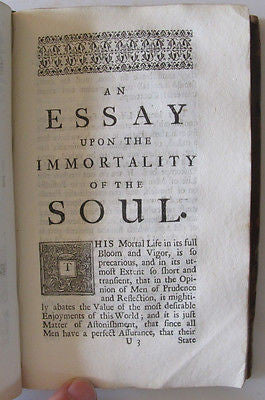 1716 Essay Nature of Epick Poetry.Homer's Iliad.Wit.False Virtue. Nature. Civil