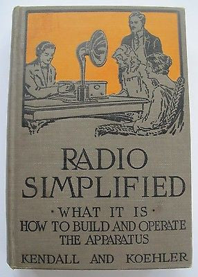1928 Radio Simplified: What It Is - How to Build And Operate The Apparatus.