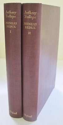 The Oxford Trollope. Crown Edition. 1951. 2 Volumes.