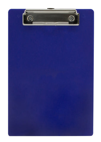Recycled Plastic Clipboard - Blue - Memo Size (00515)